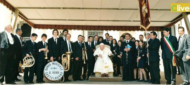 "La Banda ""Loreto Perrini"" in udienza da Papa Francesco"