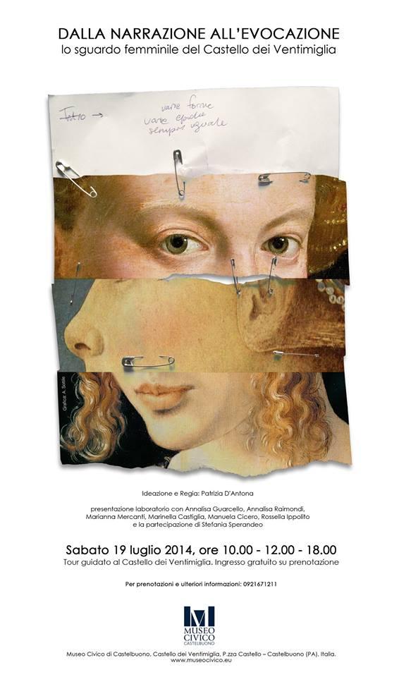 Dalla narrazione all'evocazione: lo sguardo femminile del Castello Ventimiglia