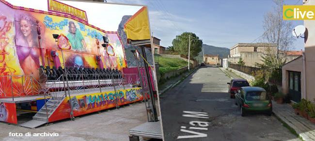 """Il proprietario della giostra """"adrenalina"""" in merito alla richiesta di modifica dell'ubicazione delle giostre inoltrata dagli abitanti di via Mazzini"""