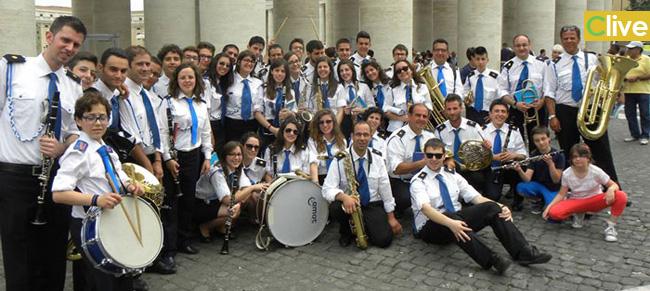 """Castelbuono. La Banda """"Loreto Perrini"""" all'udienza di Papa Francesco"""