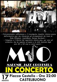 La MADONIE JAZZ ORCHESTRA alla 17^ edizione del Castelbuono Jazz  Festival