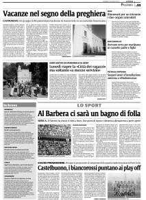 LA SICILIA: Castelbuono, i biancorossi puntano ai play off