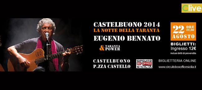 Venerdì 22 agosto in Piazza Castello imperdibile appuntamento con Eugenio Bennato & Taranta Power