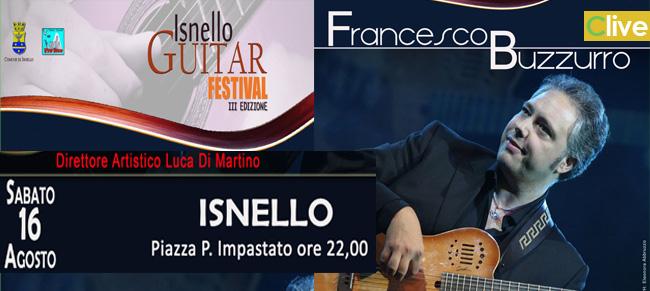 Francesco Buzzuro all' Isnello Guitar Festival