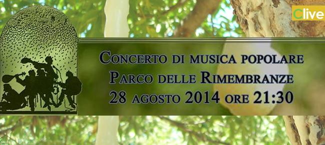Giovedì 28 agosto il concerto dei Lorimest al Parco delle Rimembranze