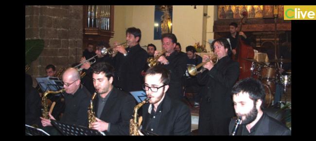 La MADONIE JAZZ ORCHESTRA alla 17^ edizione di Castelbuono Jazz  Festival