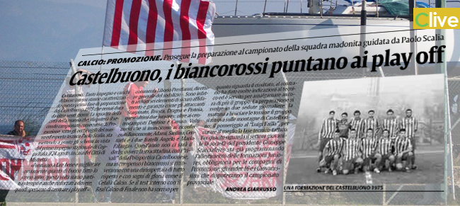 Castelbuono, i biancorossi puntano ai play off
