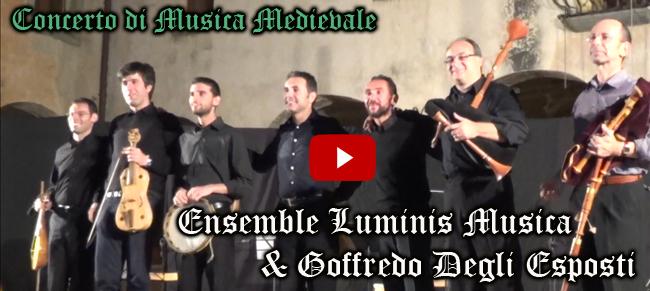 Disponibile la registrazione integrale del concerto di musica medievale a cura dei Luminis Musica