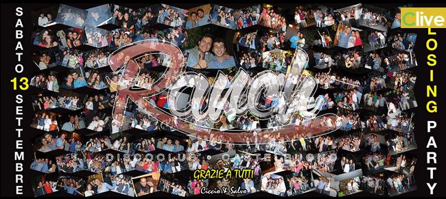 CLOSING PARTY @ Ranch Discoclub Castelbuono