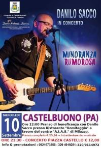 """Castelbuono: Danilo Sacco presenta il suo nuovo album """"minoranza rumorosa"""""""