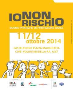 """A Castelbuono ritorna la campagna """"Io non rischio"""": due giorni all'insegna della sensibilizzazione sul rischio sismico"""
