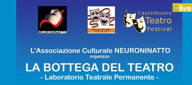 """La Bottega del Teatro: il 16 ottobre il """"Laboratorio Teatrale Permanente"""""""