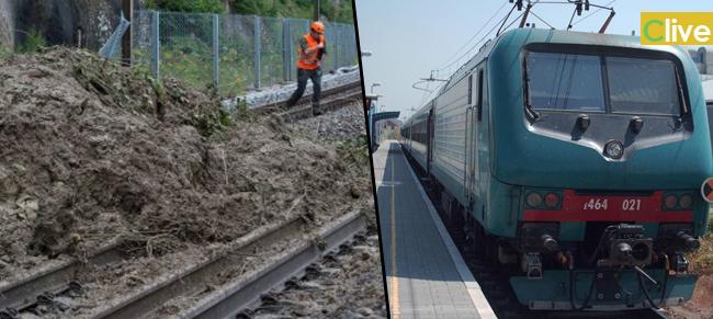 Frana sui binari, treni fermi sulla tratta Messina-Palermo