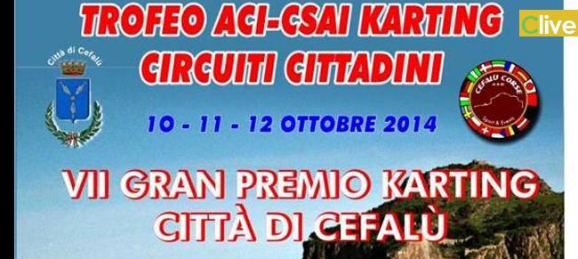 Dal 10 al 12 ottobre il Gran Premio Karting Città di Cefalù