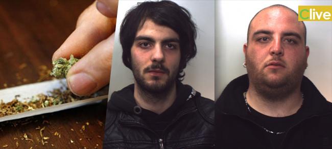 Due giovani polizzani arrestati per detenzione di sostanza stupefacente