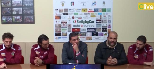"""Mister Vitale: """"Col Paternò vogliamo a tutti i costi i tre punti"""". Intanto lasciano Cicero e Russelo, mentre rinnovano Arnone e Totaro"""