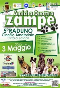 Locandina Amici a Quattro Zampe 2015