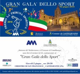 """A Castelbuono la 12esima edizione del """"Gran Galà dello Sport"""