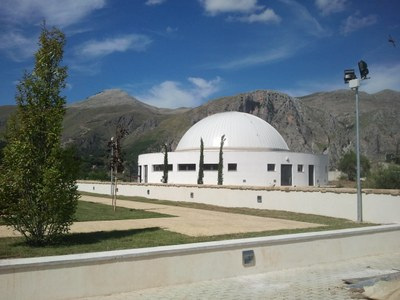 Il planetario del Parco Astronomico delle Madonie