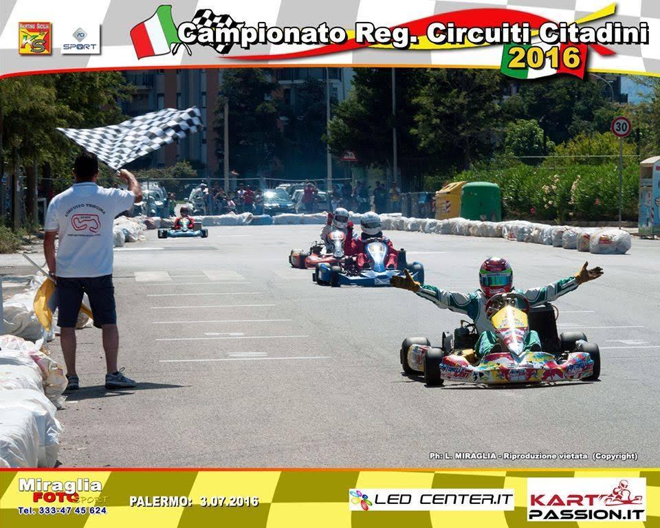 Vincenzo Campo Conquista Il 2 Girone Del Campionato Regionale Circuiti Cittadini Nella 100cc Under