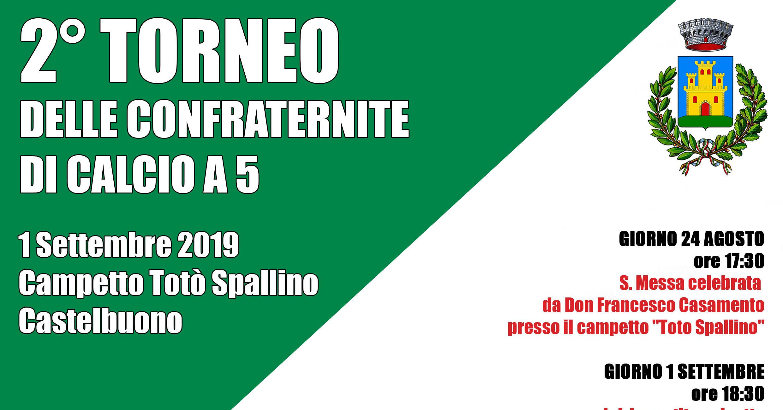 Rettifica programma secondo torneo delle confraternite Città di Castelbuono